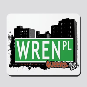 WREN PLACE, QUEENS, NYC Mousepad