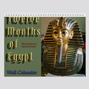 12 Months Of Egypt Wall Calendar