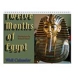 12 Months Of Egypt Wall Calendar