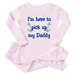 USN I'm here to pick up Daddy ver4 Baby Pajamas