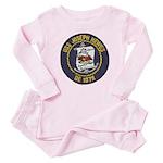USS JOSEPH HEWES Baby Pajamas