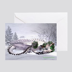 Ice Dragon Greeting Card