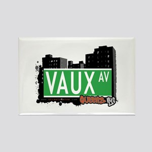 VAUX AVENUE, QUEENS, NYC Rectangle Magnet