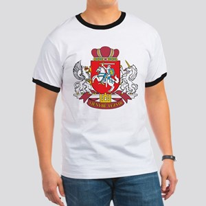 Lithuania Coat Of Arms Ringer T