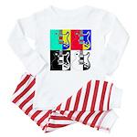 Pop Art Baby Pajamas