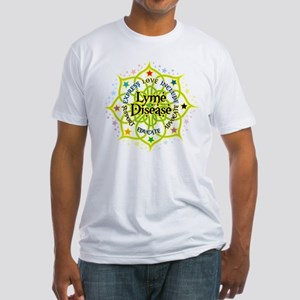 Lyme Disease Lotus Fitted T-Shirt
