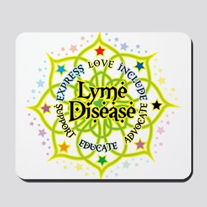 Lyme Disease Lotus Mousepad
