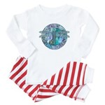 Cool Celtic Dragonfly Baby Pajamas