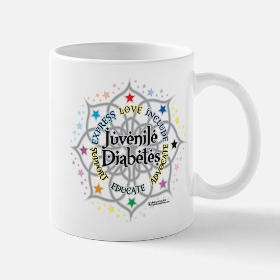 Juvenile Diabetes Lotus Mug