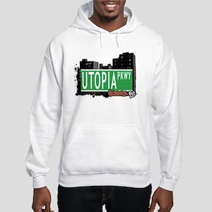 UTOPIA PARKWAY, QUEENS, NYC Hooded Sweatshirt