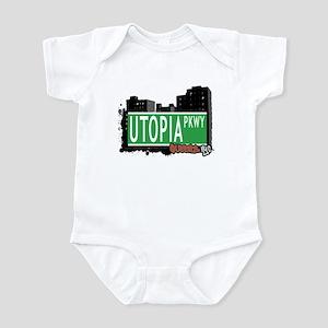 UTOPIA PARKWAY, QUEENS, NYC Infant Bodysuit