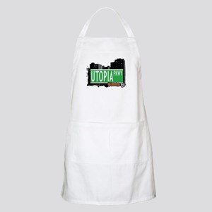 UTOPIA PARKWAY, QUEENS, NYC BBQ Apron
