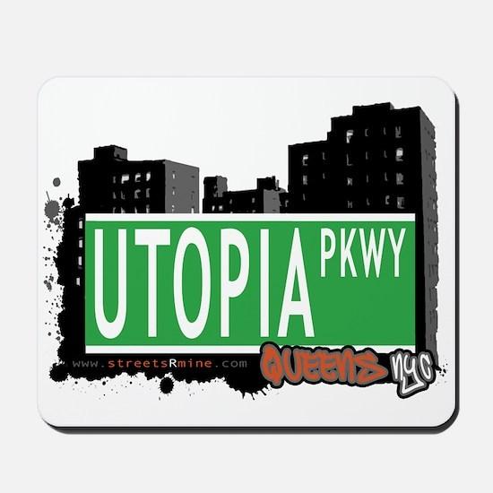 UTOPIA PARKWAY, QUEENS, NYC Mousepad