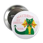 Matthew's 1st Christmas 2006 Button