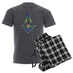 The S&C with the OES Star Men's Charcoal Pajamas