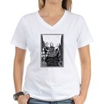 Old House Women's V-Neck T-Shirt