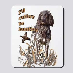 munsterlander pheasant Mousepad