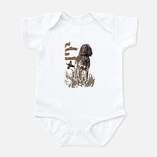 munsterlander pheasant Infant Bodysuit