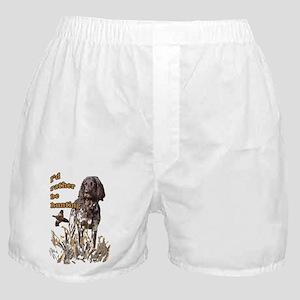 munsterlander pheasant Boxer Shorts