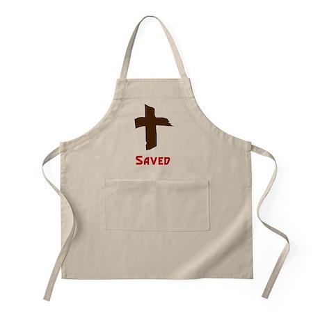 Saved BBQ Apron