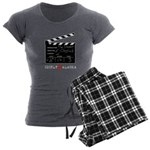 Chigliak Clapboard Women's Charcoal Pajamas