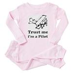 Trust me i'm a Pilot - Baby Pajamas