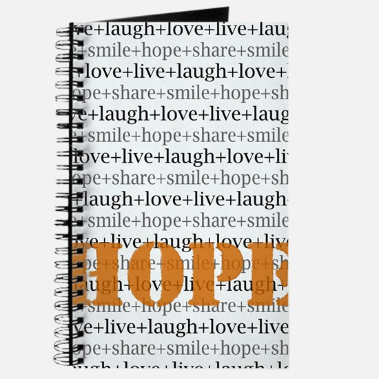 HOPE Inspirational Collage Journal