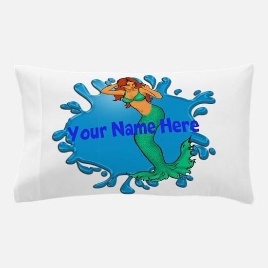 Mermaid Splash Pillow Case