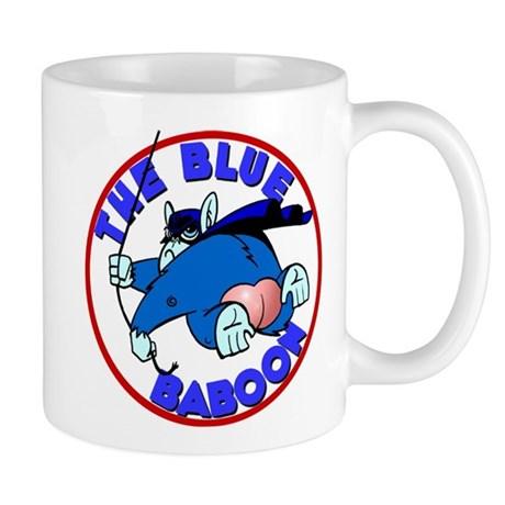 Blue Baboon Mug
