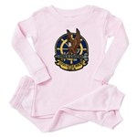 USS LITTLE ROCK Baby Pajamas