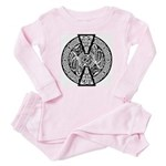 Celtic Knotwork Dragons Baby Pajamas