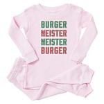 Burger Meister Meister Burger Baby Pajamas