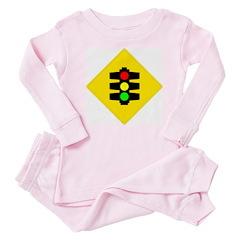 Traffic Light Sign - Baby Pajamas