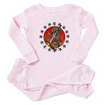 Dragon katana 2 Baby Pajamas