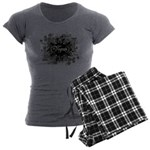 VEGAN 05 - Women's Charcoal Pajamas