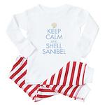 Keep Calm and Shell - Baby Pajamas