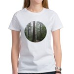 Redwood Forest Fog Women's T-Shirt