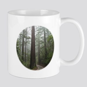 Redwood Forest Fog Mug