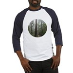Redwood Forest Fog Baseball Jersey