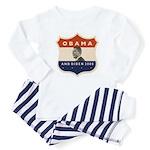 Obama / Biden JFK '60 Shield Infant Bodysuit