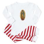 La Guadalupana Baby Pajamas
