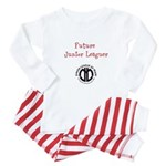 "JLM ""Future Junior Leaguer"" Baby Pajamas"