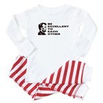 Lincoln: Be Excellent To Each Other Baby Pajamas