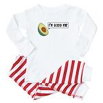 Avocado: Good Fat Baby Pajamas