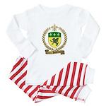 PITRE Family Crest Baby Pajamas