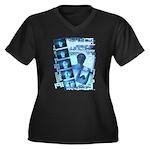QL Design by Troy M. Grzych Women's Plus Size V-Ne