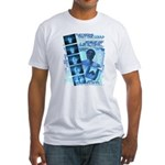 QL Design by Troy M. Grzych Fitted T-Shirt
