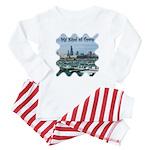 Chicago Skyline Baby Pajamas