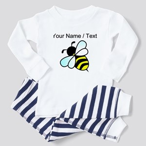 Custom Bumble Bee Baby Pajamas