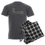 VSE Men's Charcoal Pajamas